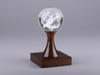 <p><em><strong>Материалы:</strong>&nbsp;оптическое стекло, дерево бук</em></p> <p><em><strong>Технологии:</strong>&nbsp;лазерная гравировка внутри стекла</em></p> <p><strong><em>Размер,мм:&nbsp;</em></strong><em>190х100х100</em><em>&nbsp;</em></p> <p><em><strong>Примерная стоимость, руб.:&nbsp;</strong>4 310</em></p> <p><em><em><em><em>изделия изготавливаются по Вашим индивидуальным требованиям,&nbsp;</em><em>стоимость зависит от сложности изготовления, материалов и тиража</em></em></em></em></p> <p><em>&nbsp;</em></p>